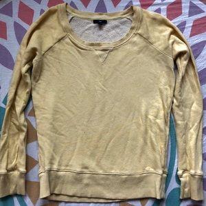 Gap Vintage Wash Crew Neck Sweatshirt